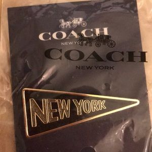 New York pin brooch